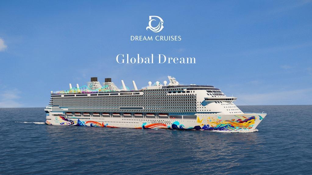 Revealed: Global Dream Hull Art - Cruise Industry News | Cruise News