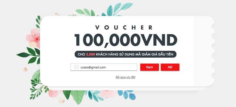 Tiki tạo ra mã giảm giá tiki khách hàng mới nhằm thu hút mọi người đến với trang thương mại điện tử này