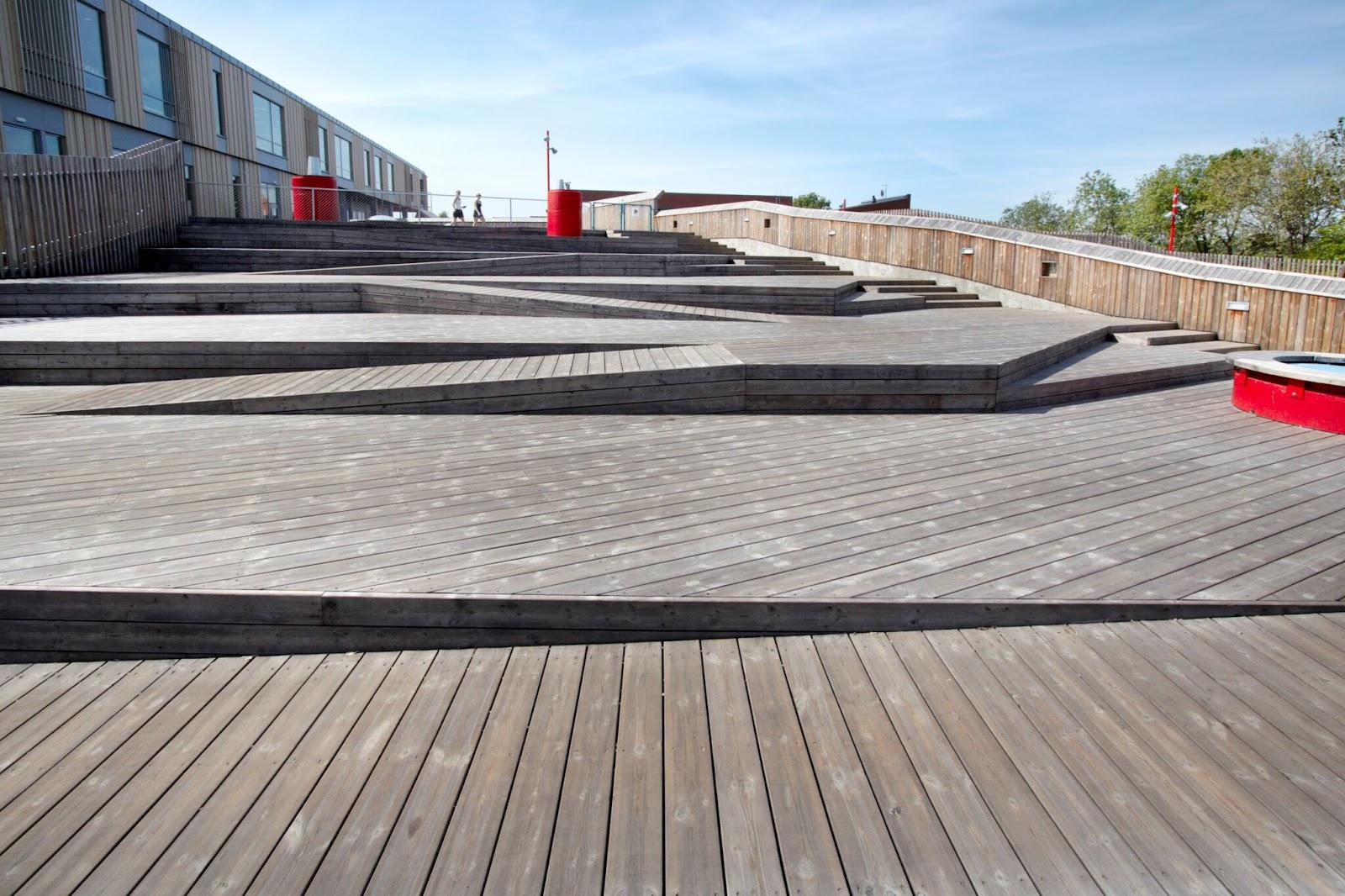 Vedlikeholdsfrie terrassebord i forskjellige nivåer