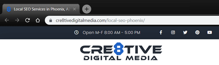 Screenshot of URL-Local SEO Services in Phoenix, AZ