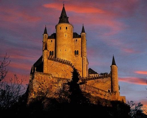 Alcázar of Segovia, Spanyol