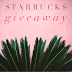 Starbucks $100 Gift Card Instagram Giveaway