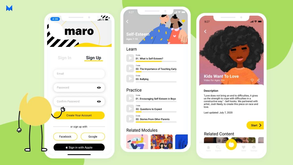 Maro- best app for mental health