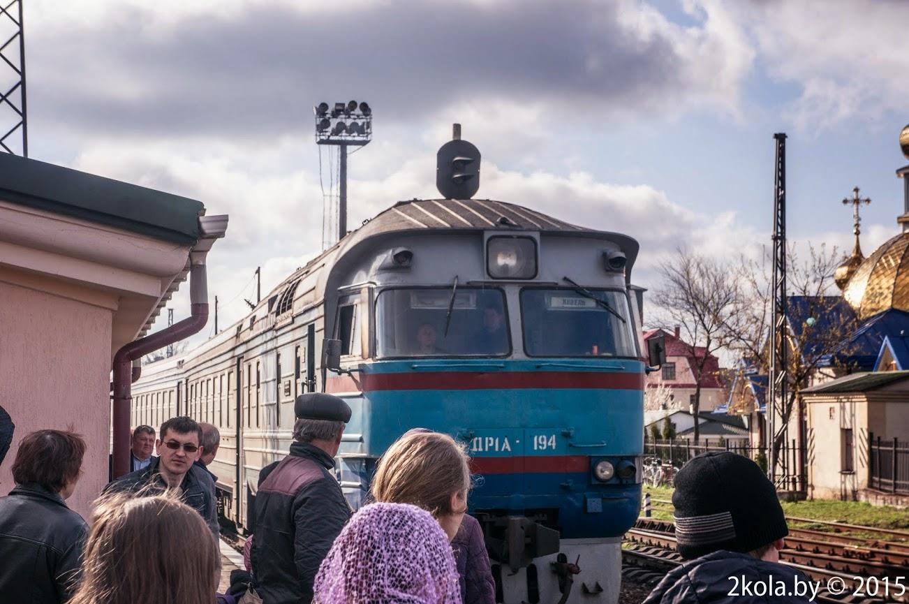 Дизельный поезд Ковель-Львов