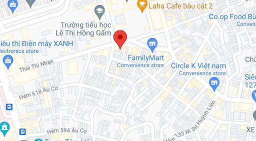 Điểm đón/trả của nhà xe Chơn Mỹ Limousine tại Sài Gòn