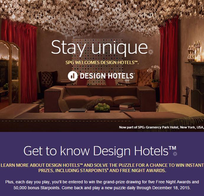 Design Hotels Contest