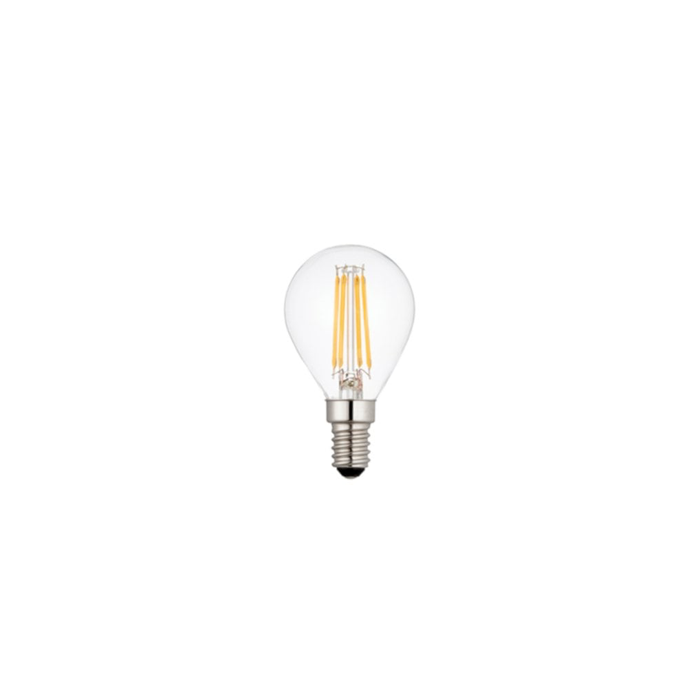 E14 Warm White 4W Dimmable LED Golf Light Bulb Single Pack (76797)
