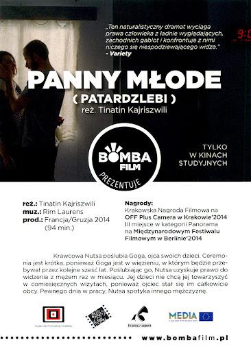 Przód ulotki filmu 'Panny Młode'