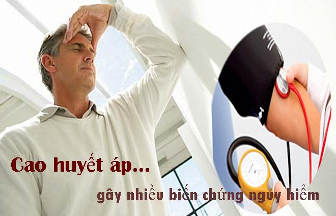 Cao huyết áp gây nhiều biến chứng nguy hiểm