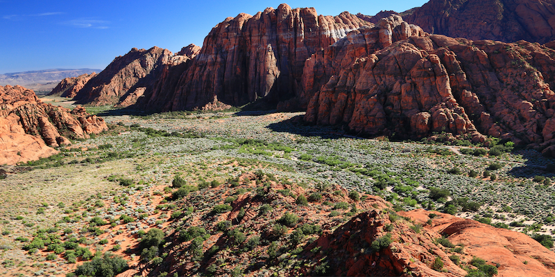 Snow Canyon State Park in Utah