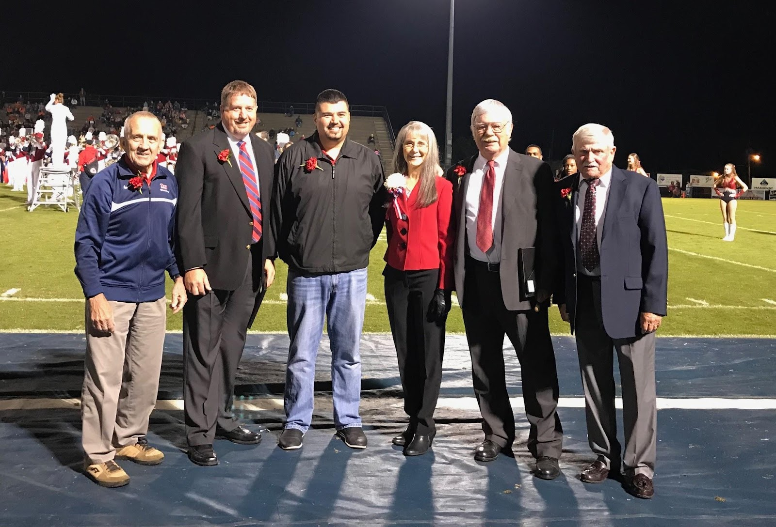 Pictured Left to Right: Dick Clem, Steven Fisher, Erick Ordonez, Sheila Roberts, Doyle Thornton, Steven Woolwine