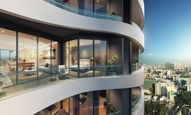 View một căn hộ được thiết kế hiện đại tại chung cư City Garden
