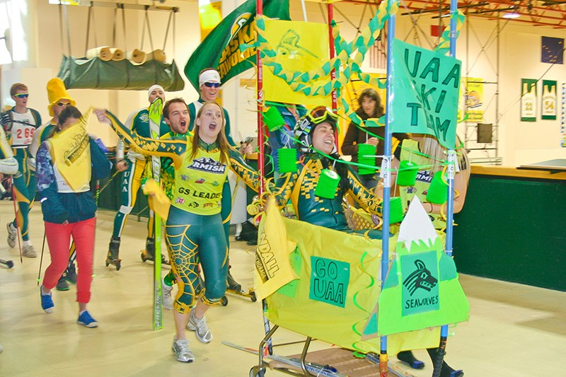 Image result for UAA SHOPPING CART PARADE