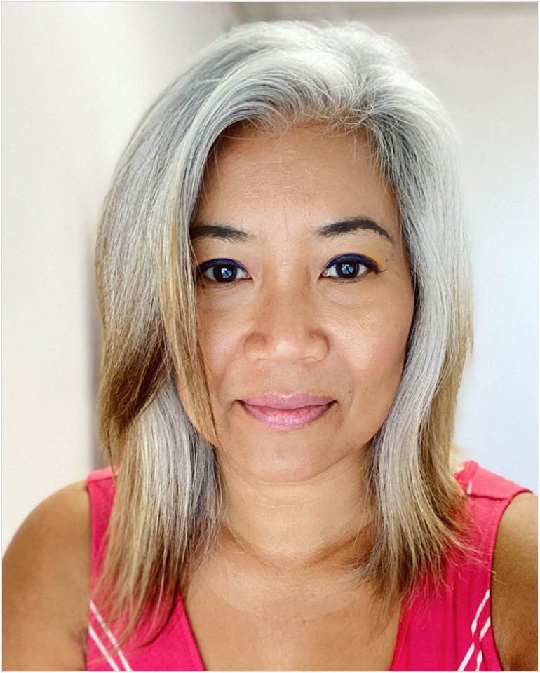 25 Women Going Gray Gracefully Who Will Inspire You to Quit Dying Your Hair 8