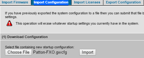 Configuring Patton SmartNode - Analog 2 and 4 Port FXO VoIP Gateways