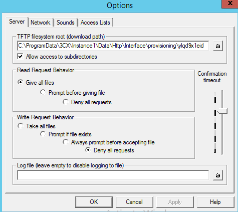 Provisioning via TFTP Server - 3CX