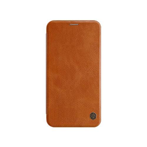 Картинки по запросу Кожаный чехол (книжка) Nillkin Qin Series для Apple iPhone XS Max (6.5
