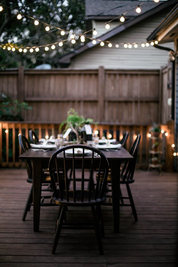 15 easy ways to get your outdoor living space ready for - Simple outdoor living spaces ...
