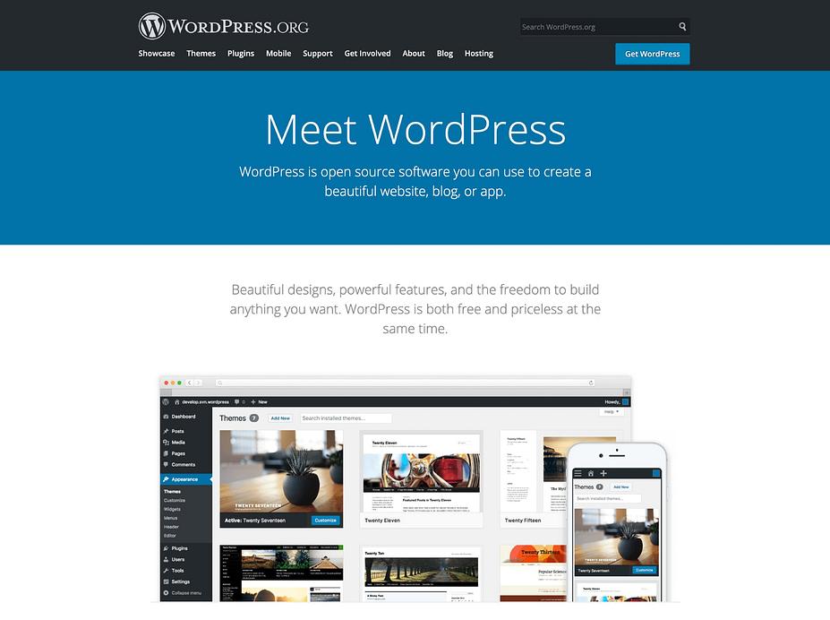 WordPress tự lưu trữ