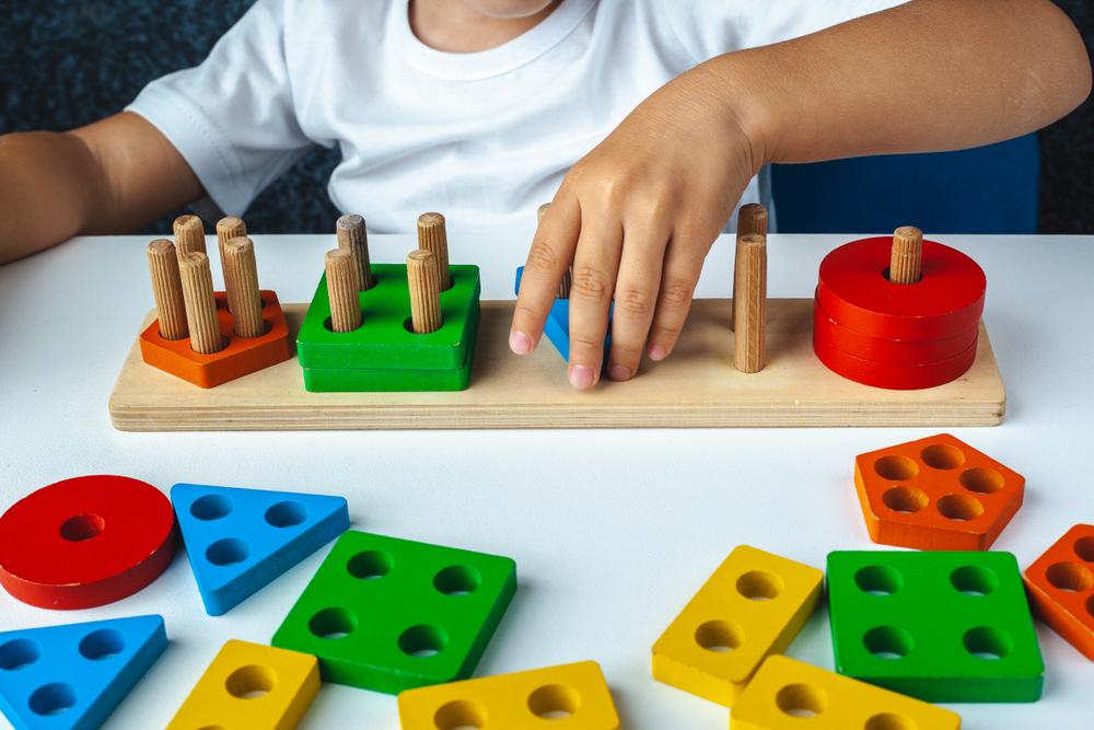 Jogos educativos individuais para crianças