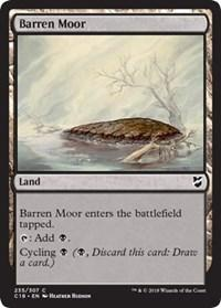 Barren Moor, Magic, Commander 2018