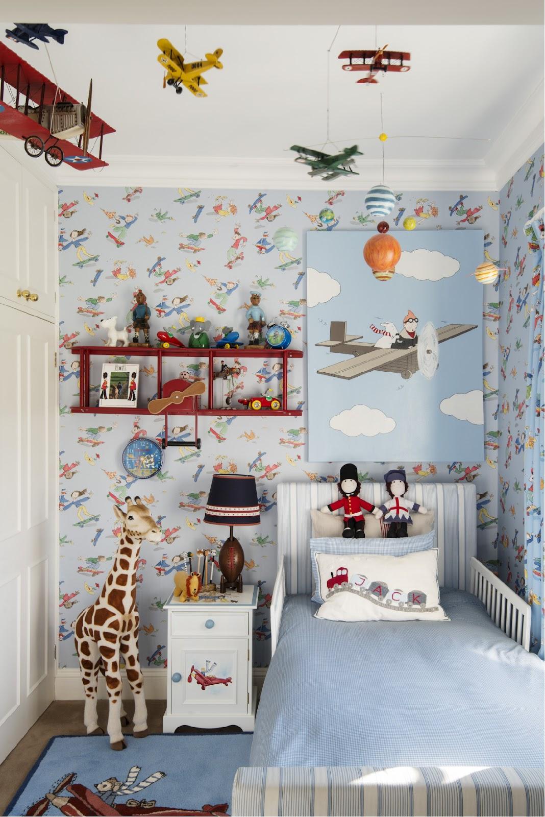 Display Favorite Toys for Boy Bedroom Ideas