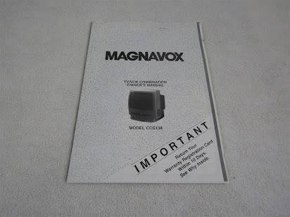 manual magnavox zv420mw8