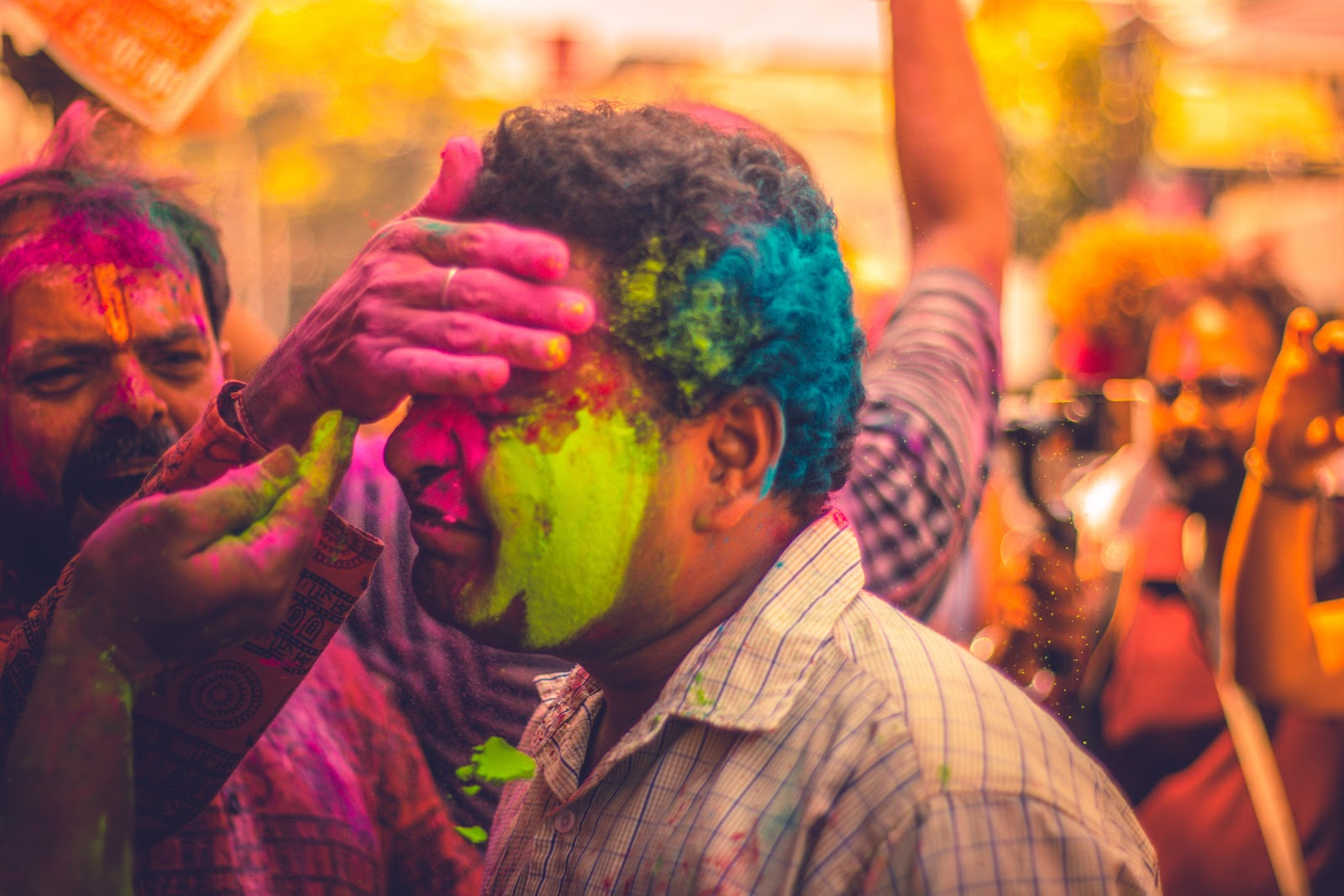 Here you can find about holi celebrations in India.