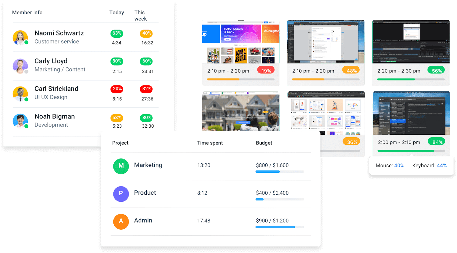 Hubstaff app and feature overview