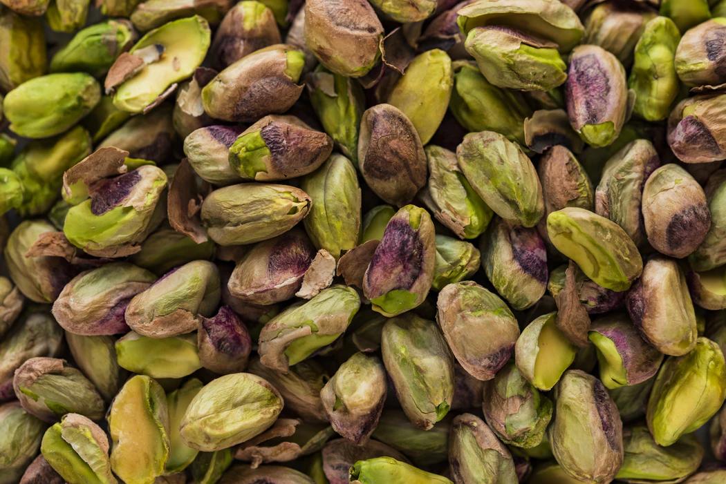 pistaatsiapähklite hunnik