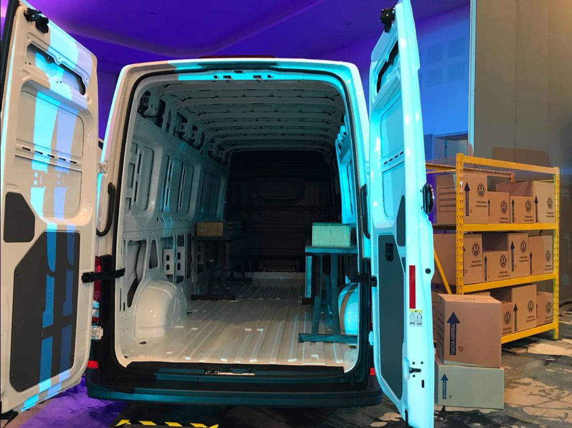Crafter VW 2019 carga