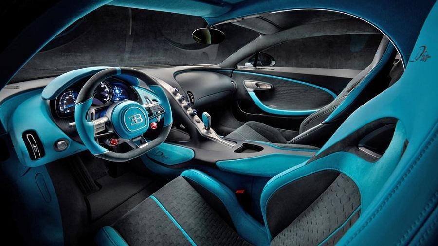 Bugatti Divo beltér