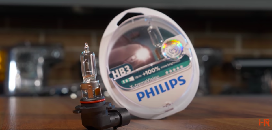 Is 100w Halogen Brighter than LED? - Philips 9005 X-Treme Vision