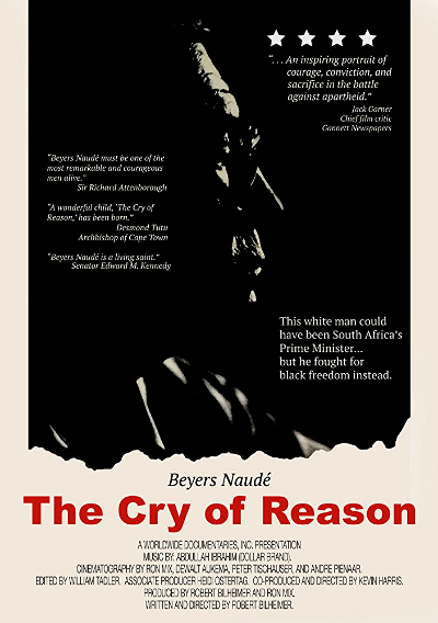 DVD cover for The Cry of Reason.