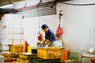 Man working I factory