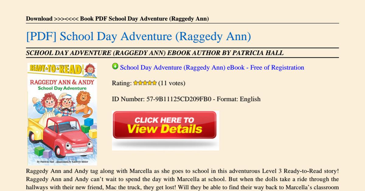 School-Day-Adventure-Raggedy-Ann pdf - Google Drive