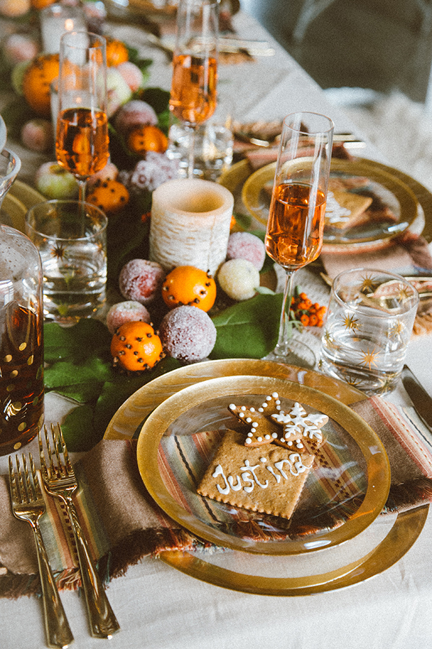 Ideas for styling a unique festive table