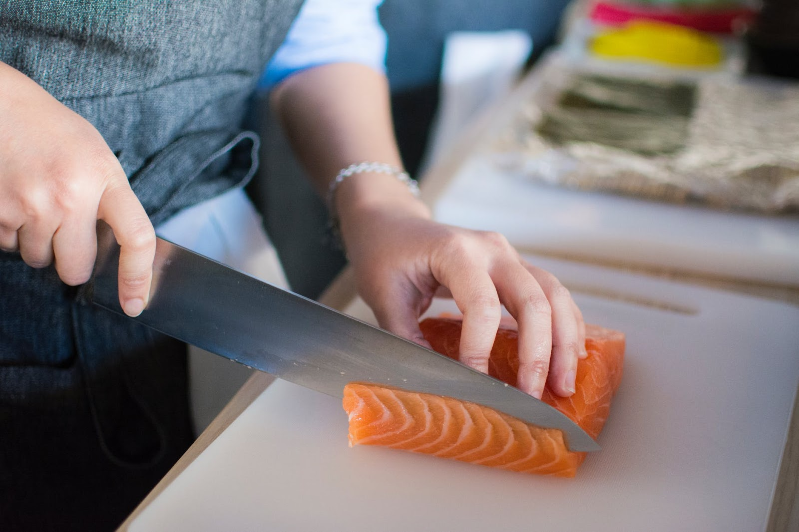 pre-prepared seafood