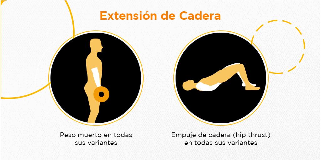 rutina de gym para piernas y gluteos extension de cadera