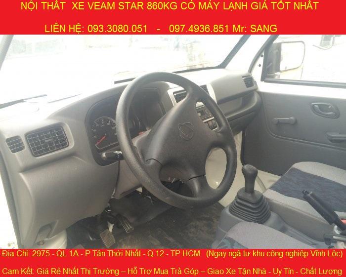 nội thất xe tải veam star 860kg.jpg