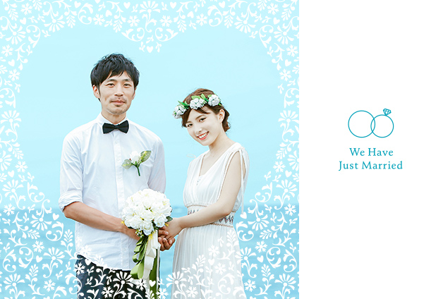 TOLOT CARDの結婚報告はが(Just Married)