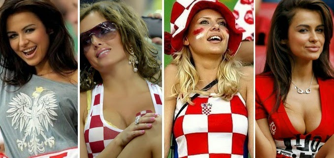check out hot female football fans