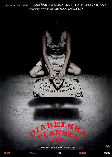 Przód ulotki filmu 'Diabelska Plansza Ouija'