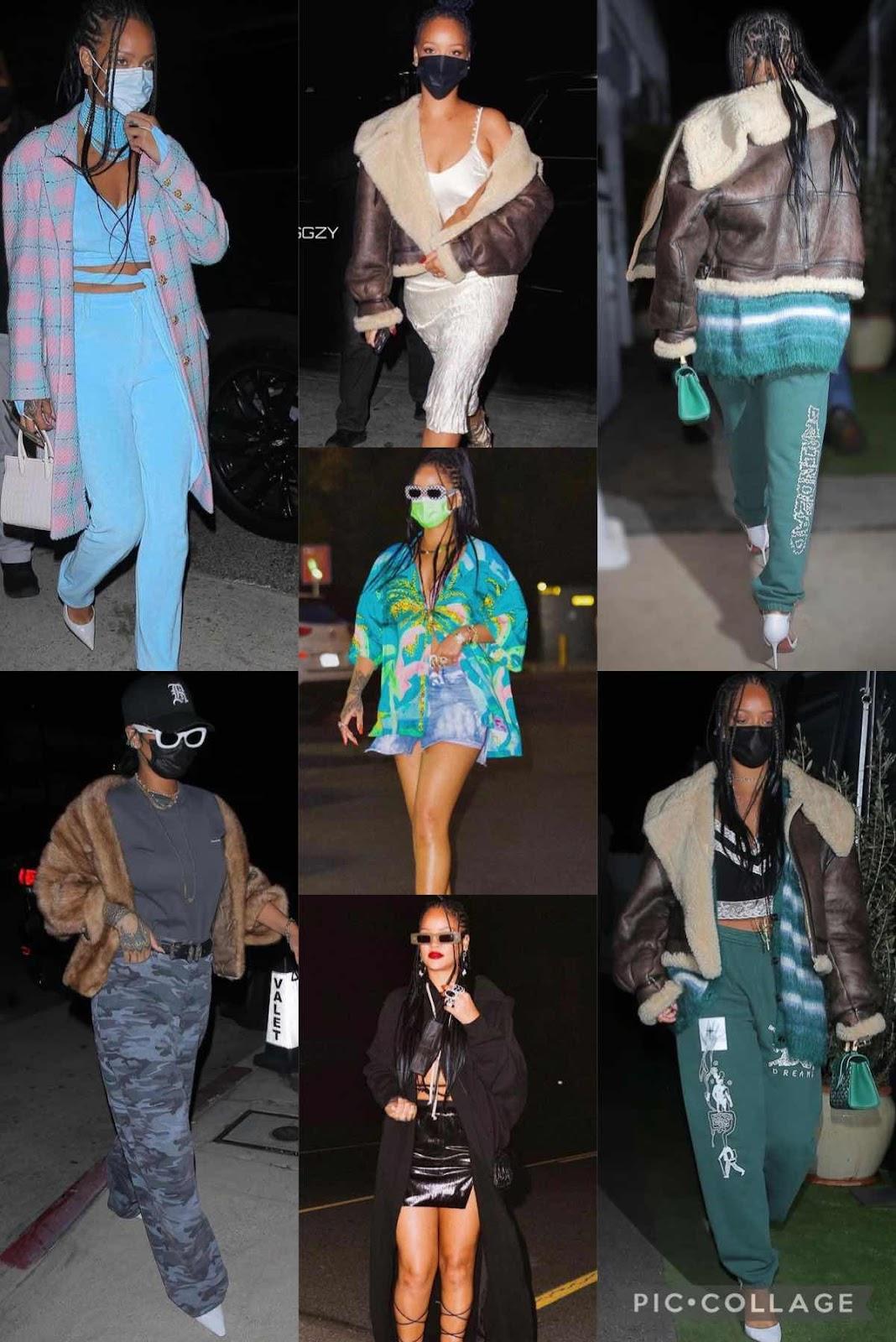 Mask Up, Rihanna Looks..
