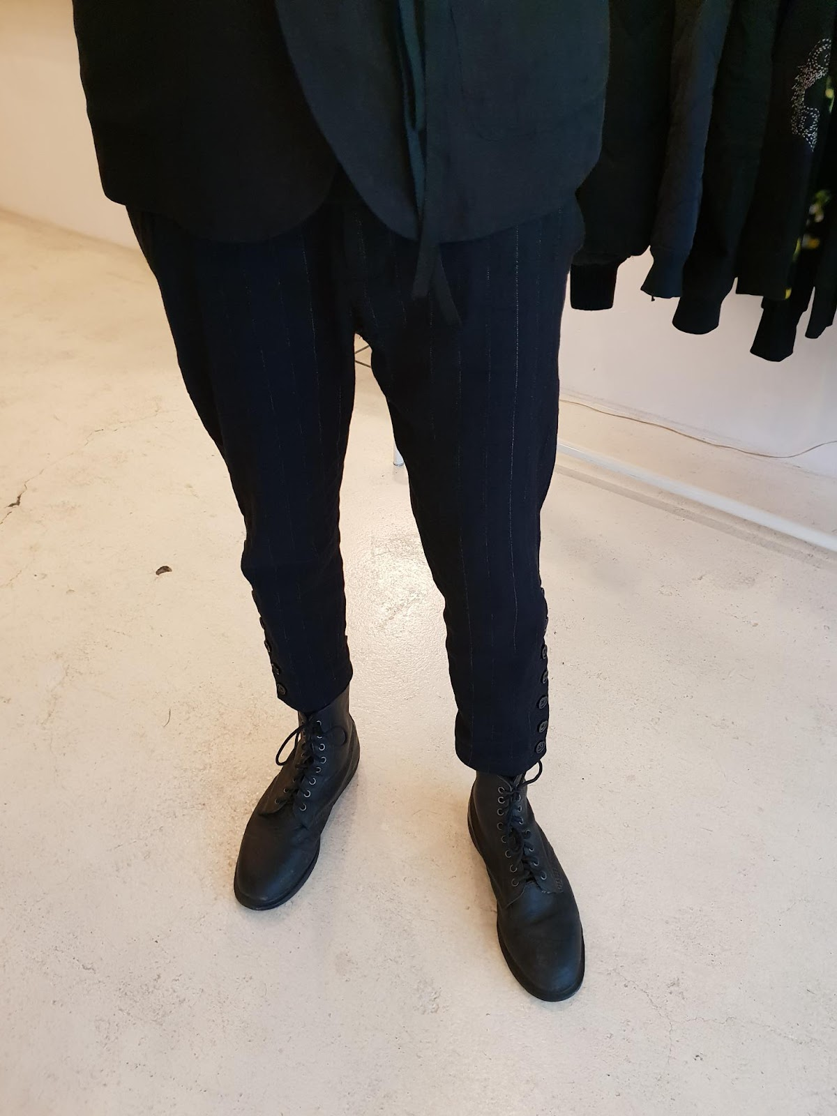 ann demeulemeester Algernon trousers