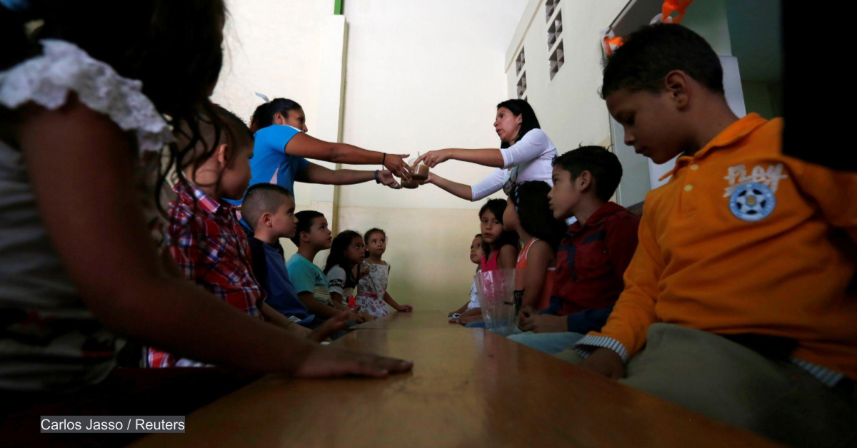WFP to deliver school meals inside Venezuela