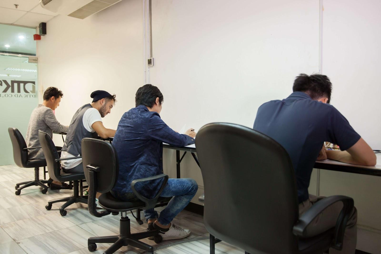 DTK AD 日本語能力試験 バンコク