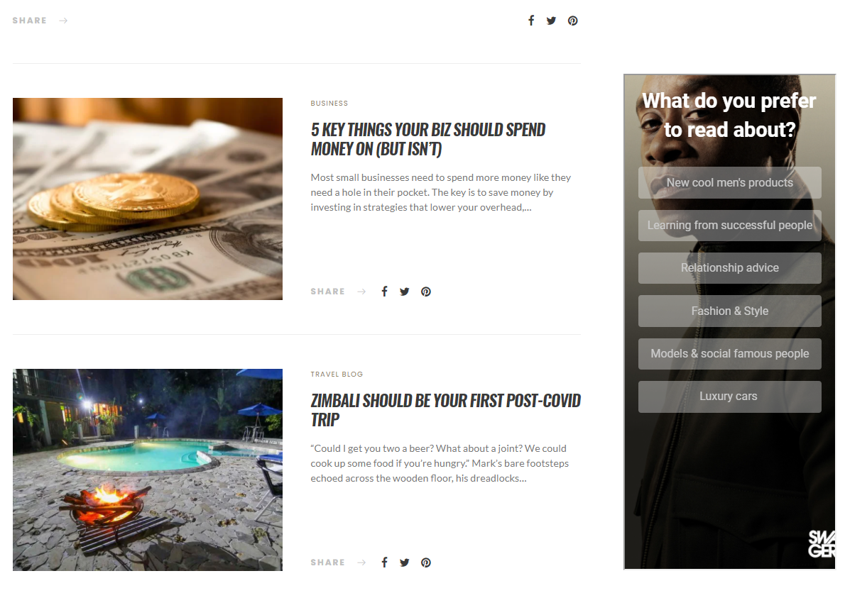 SWAGGER Magazine: Standing out in a Sea of Content