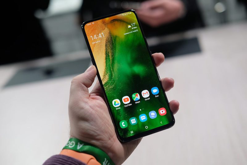 Điện thoại Samsung Galaxy A80 | Giao diện Android