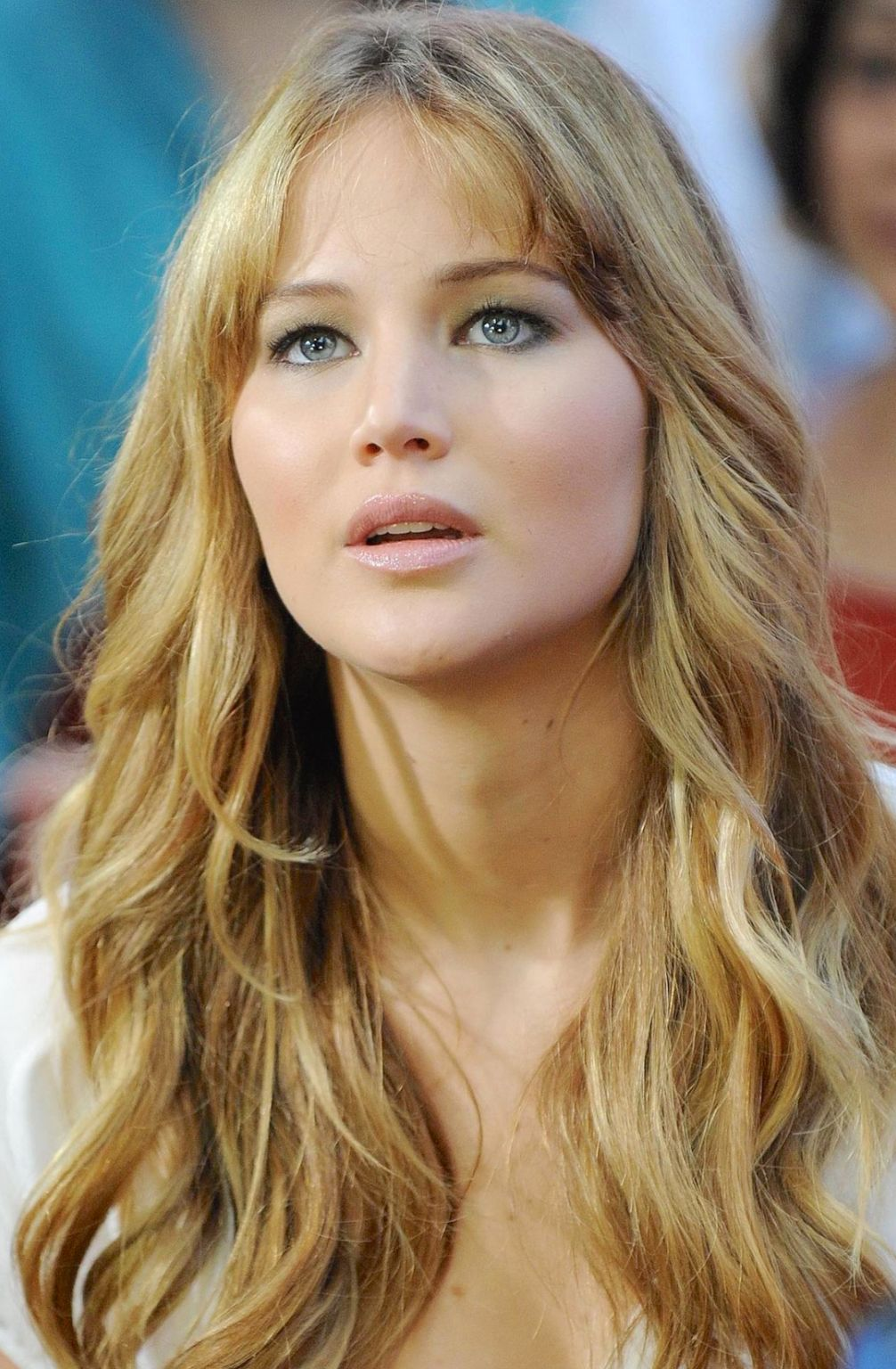 Even with a chubby face stripped of her mascara, Jennifer could still prove how amazing she is with this photo.